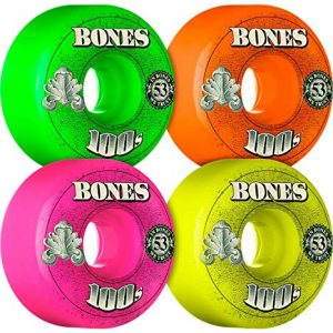 Bones 100's Party Pack Money Wheels – 53mm