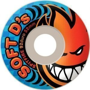 Spitfire Soft D's 54mm Wheels