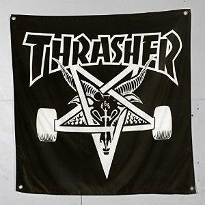 Thrasher Banner Sk8Goat