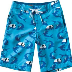 Enjoi Water Board Hybrid Shorts Size: 32 [Blue]