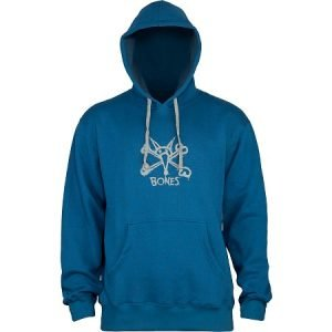 Bones Vato Ocean Pacific Hooded Sweatshirt Blue – Large
