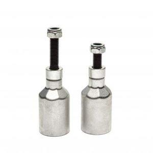 Phoenix Oversized Alloy Pegs (set of 2) silver