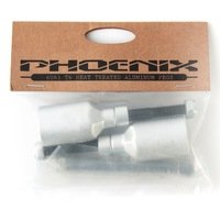 Phoenix Oversized Alloy Pegs (set of 2) silver