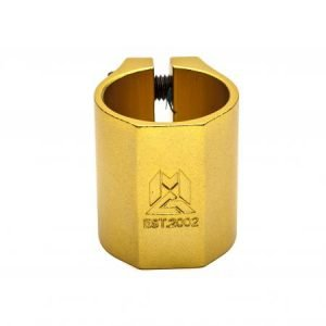 Madd Gear MFX Double Clamp Gold