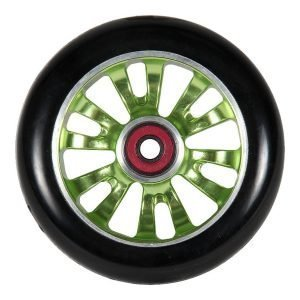 Madd Gear Vicious 110mm Wheel Black/Green (one each)
