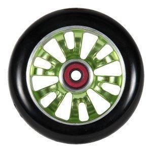 Madd Gear Vicious 110mm Wheel Black/Green (one each)