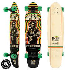 Sector 9 Bamboo Trenchtown Rock Longboard Complete