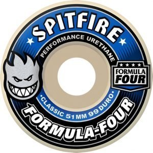 Spitfire 53mm F4 Wheels Blue 99 classic