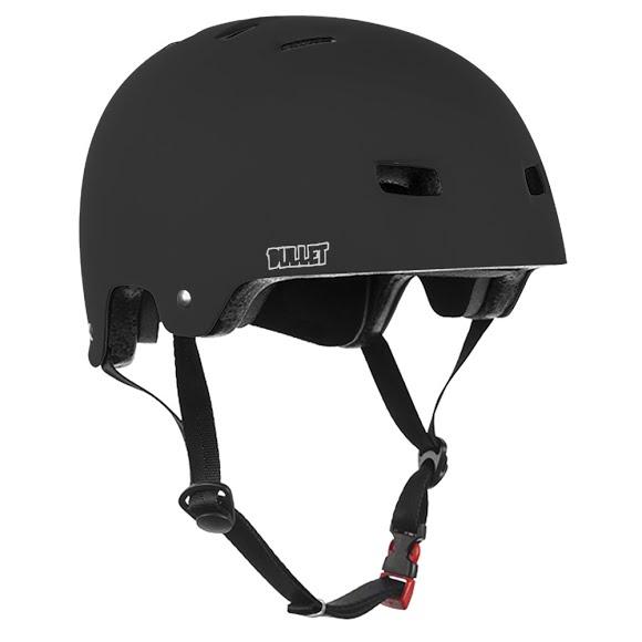 Bullet Deluxe Helmet Matte Black - L/XL